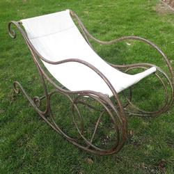 1920 French Garden Rocking Chair
