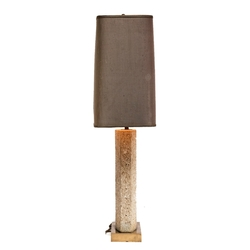 Table Lamp attr. Roger Vanhevel in Fossilised sandstone, Belgium 1970