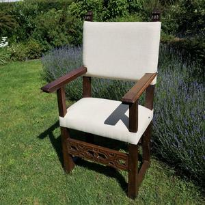 Baroque 17th Italian Arm Chair
